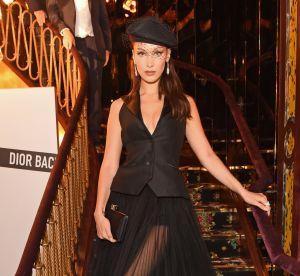 Bella Hadid : elle adapte la même tenue pour le jour et pour la nuit !
