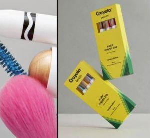 Se maquiller avec des Crayola ? C'est désormais possible !