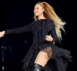 Cagoule et bottes transparentes, les costumes dingues de Beyoncé pour sa tournée