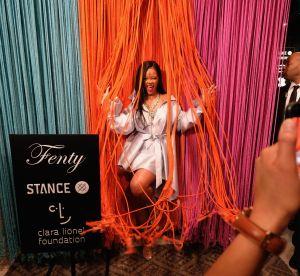 Rihanna : transformer un déshabillé sexy en tenue de soirée, elle l'a fait !