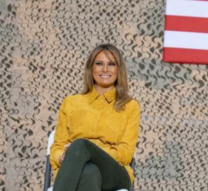 Melania Trump, un pantalon qui trompe énormément...