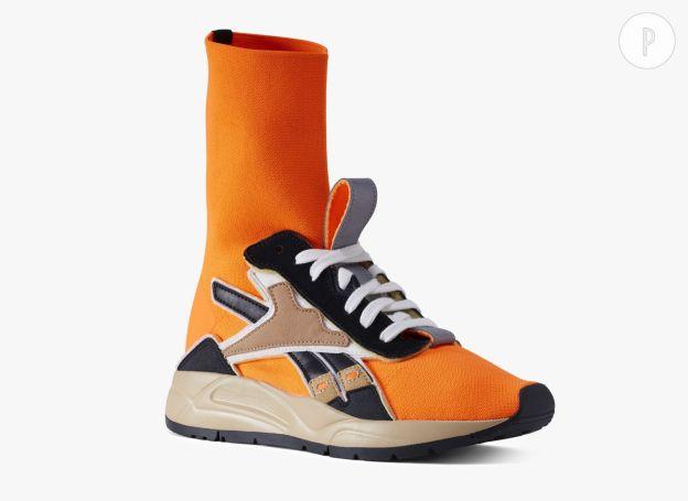 Reebok Pantalon de jogging Reebok Victoria Beckham Orange