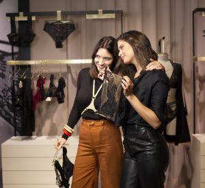La créatrice de Livy Lisa Chavy et l'égérie Victoria's Secret Sara Sampaio.