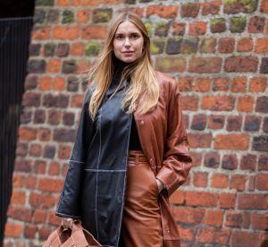 Non, porter du marron et du noir ensemble n'est pas un faux pas !