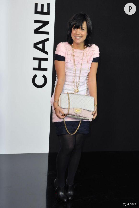 Lily Allen au défilé Chanel automne hiver 09-10