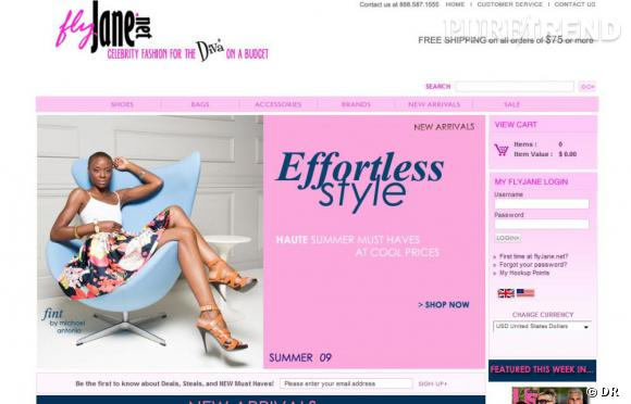 le site Fly jane
