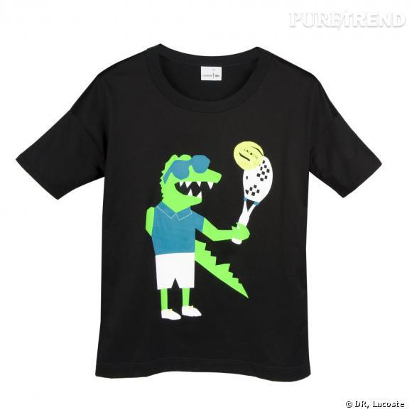 T-shirt Lacoste par Andrea Crews