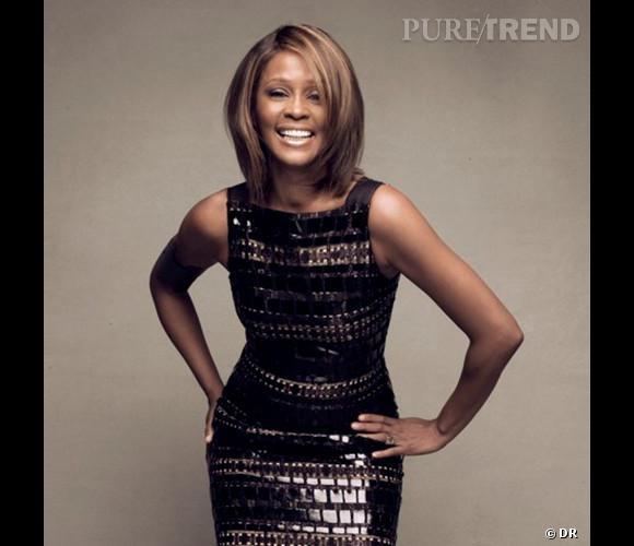 "Photo du dernier album de Whitney Houston, ""I Look to You"""