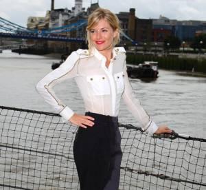 Sienna Miller en total look Loewe