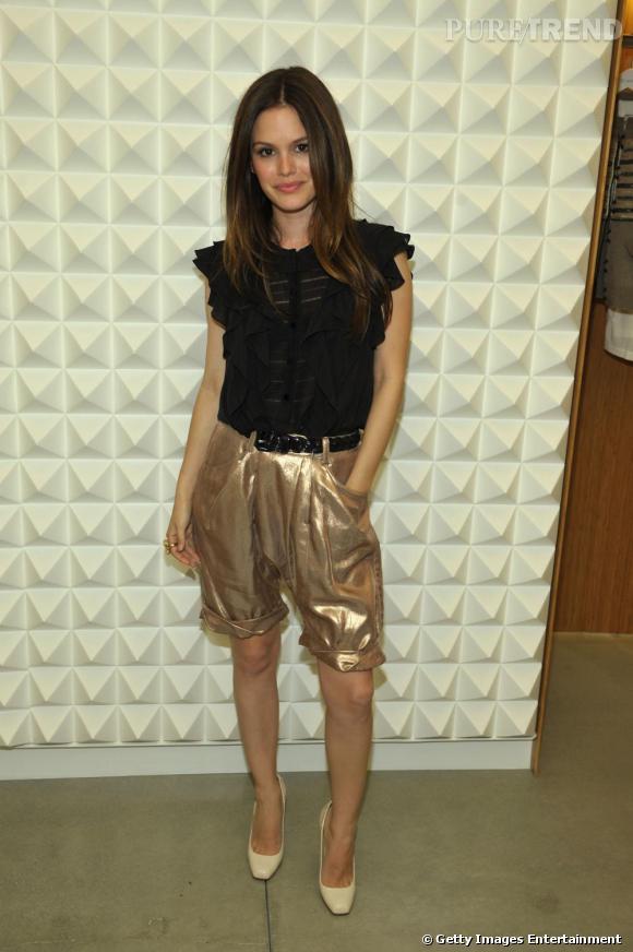 Rachel Bilson à la soirée Vogue pour 3.1 Phillip Lim