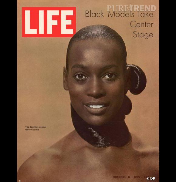 Naomi Sims en couverture de Life Magazine