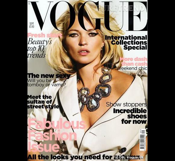 Couverture de Septembre du Vogue UK