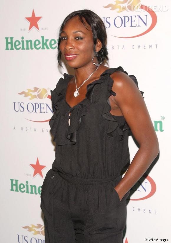 Venus Williams en combi noire