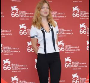 Léa Seydoux : petit marin et talons hauts