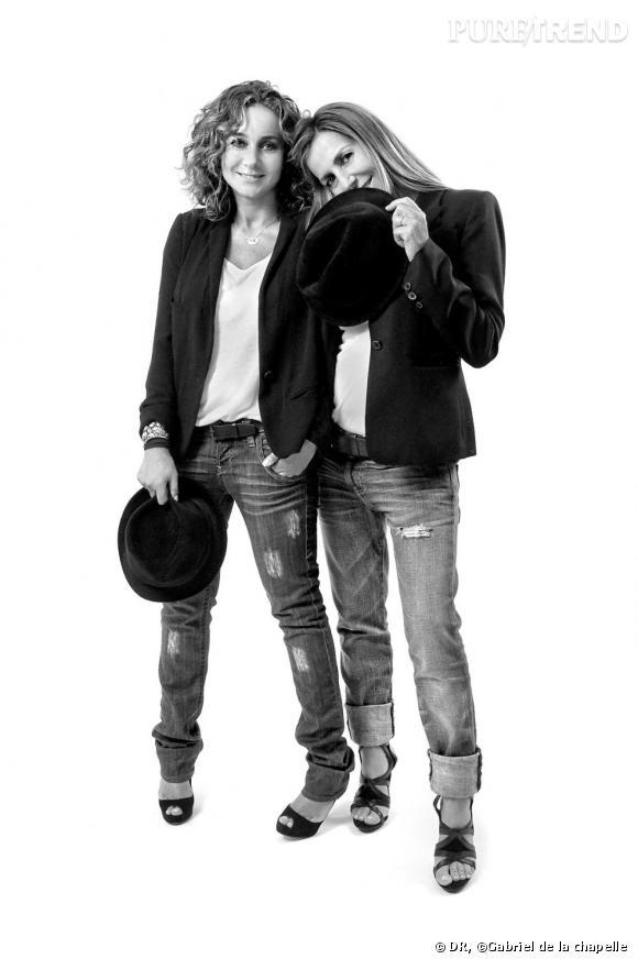 Barbara Boccara et Sharon Krief, créatrices de la marque BA&SH