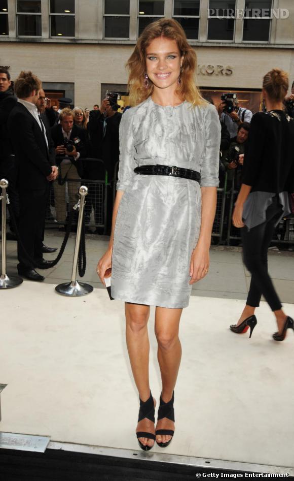 Natalia Vodianova à la Fashion's Night Out de Londres