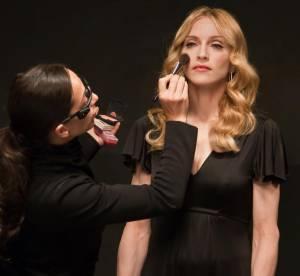 EXCLU Madonna : plus que du maquillage, de l'orfèvrerie...