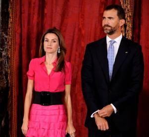 Letizia d'Espagne ose le total look rose !