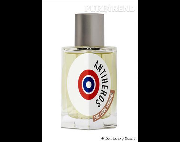 Eau de Parfum Antihéros par Etat Libre d'Orange, 69 dollars les 50 ml, en vente  sur Lucky Scents