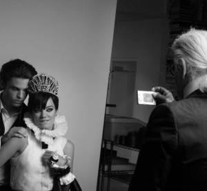 Lily Allen : découvrez les coulisses de son shooting Chanel