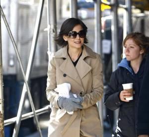 Katie Holmes, Charlotte Gainsbourg, Demi Moore : en imper, pas d'impair