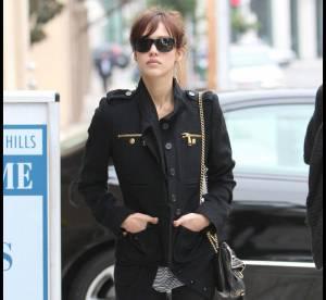 Jessica Alba : militaire version glitter