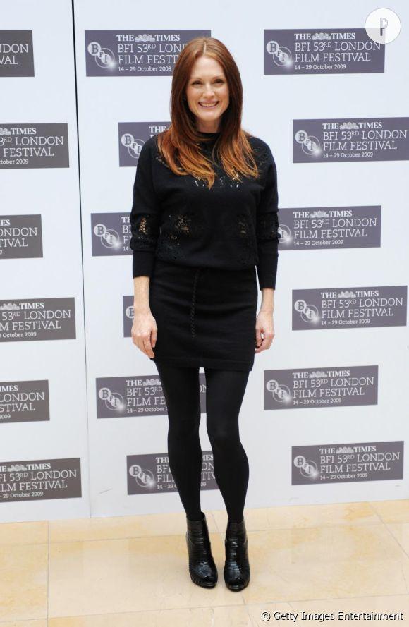 Julianne Moore à la première du film Chloe au Festival de Londres