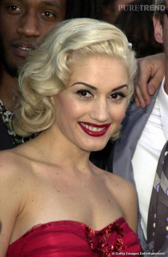 """Gwen amorce en 2001 un virage glamour hollywoodien, après avoir incarné Jean Harlow dans le film """"Aviator"""""""