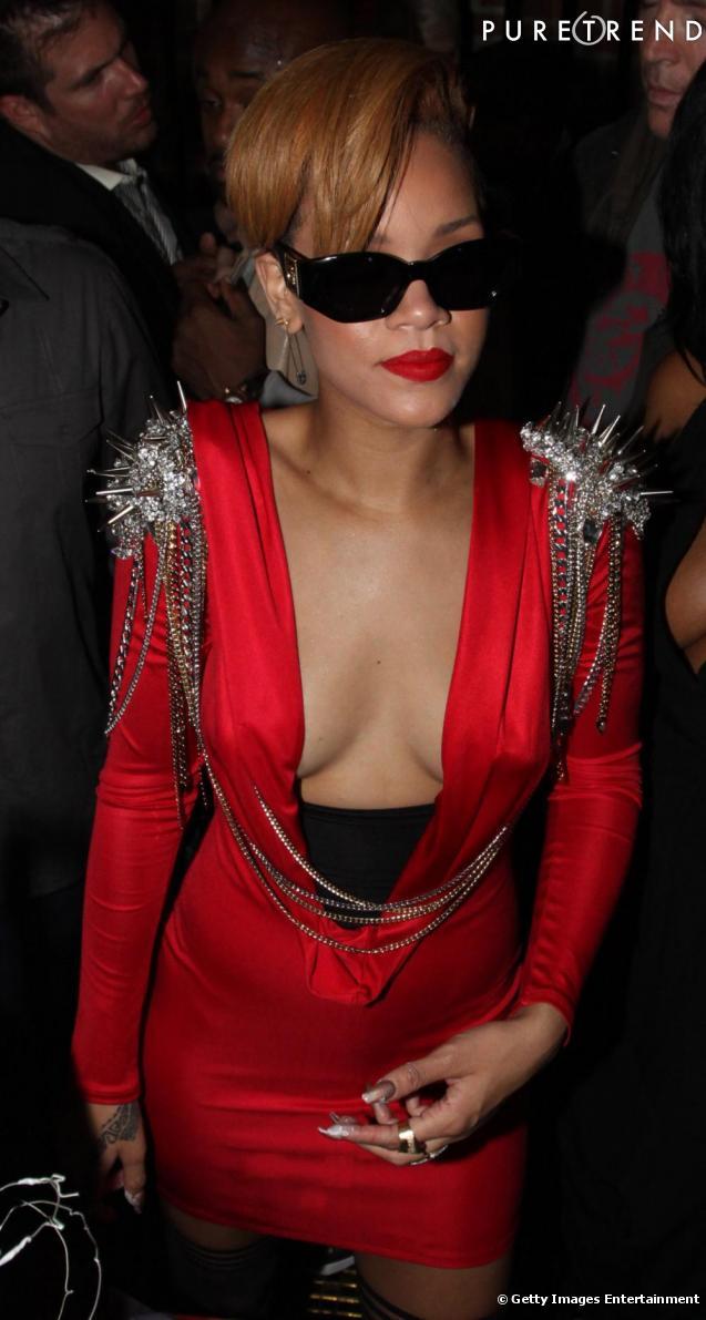 Voici la Rihanna qu'on préfère : sexy, trashy et punky !