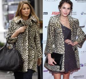 Alexa Chung vs Rachel Stevens : laquelle porte le mieux le manteau léopard ?