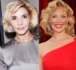 Clotilde Courau vs Katherine Heigl : qui porte le mieux le brushing façon Marylin Monroe ?