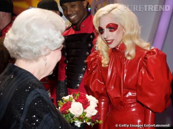 Lady Gaga à la soirée Royal Variety Performance de Londres