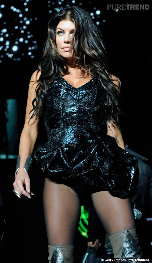 Fergie lors d'un concert à Las Vegas
