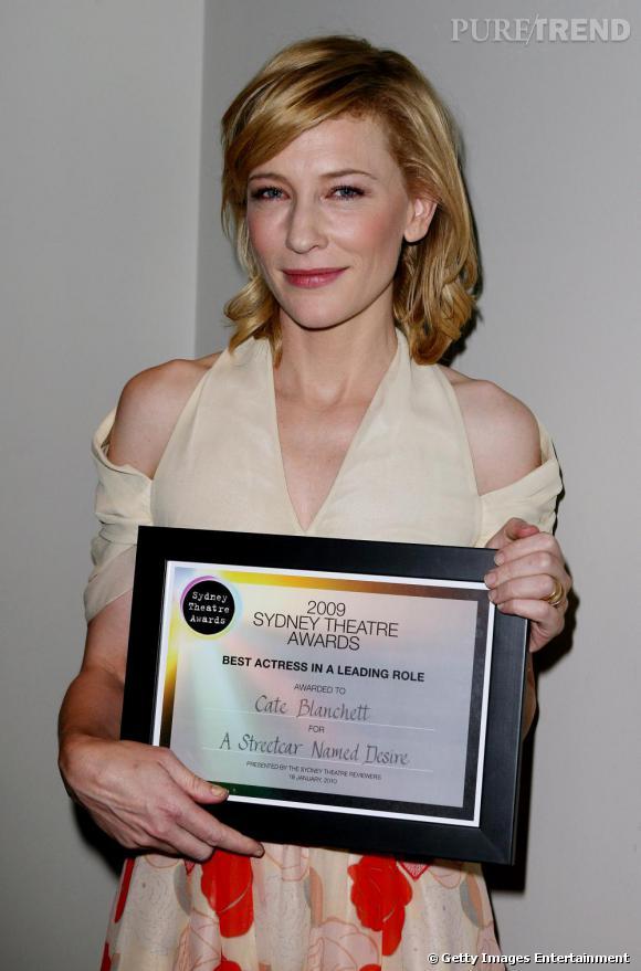 Cate Blanchett au théâtre de Sydney