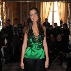 Malika Ménard au défilé Couture Zuhair Murad à Paris