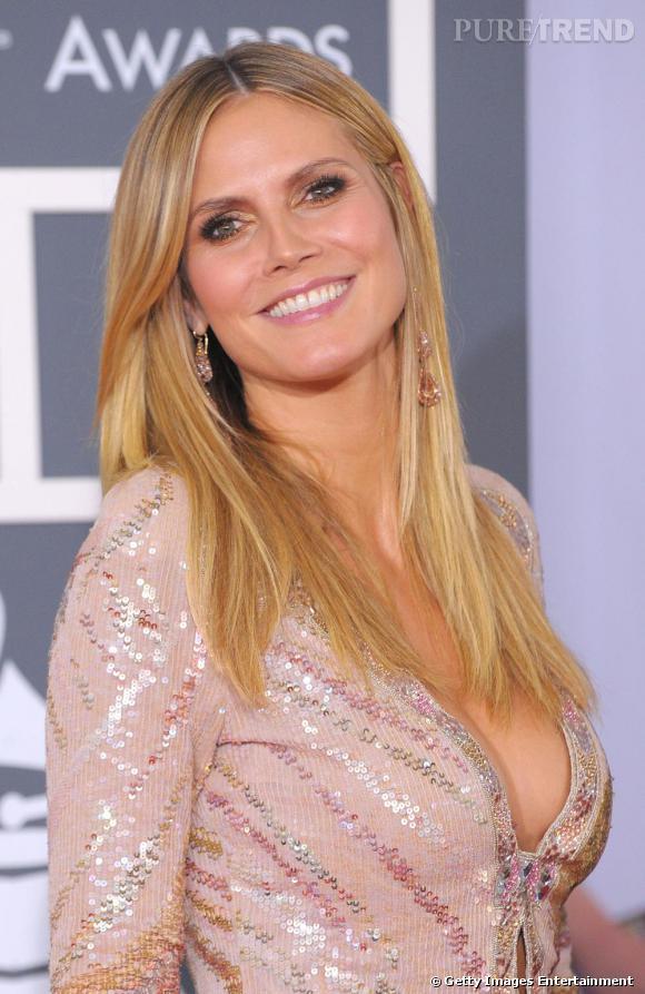 Heidi Klum aux Grammy Awards