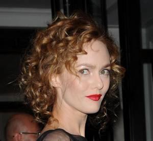 Vanessa Paradis, parfaite et rétro jusqu'au bout des cheveux