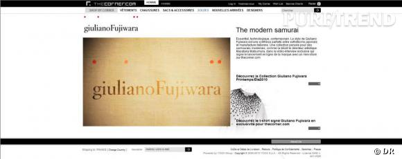 Giuliano Fujiwara pour the corner.com