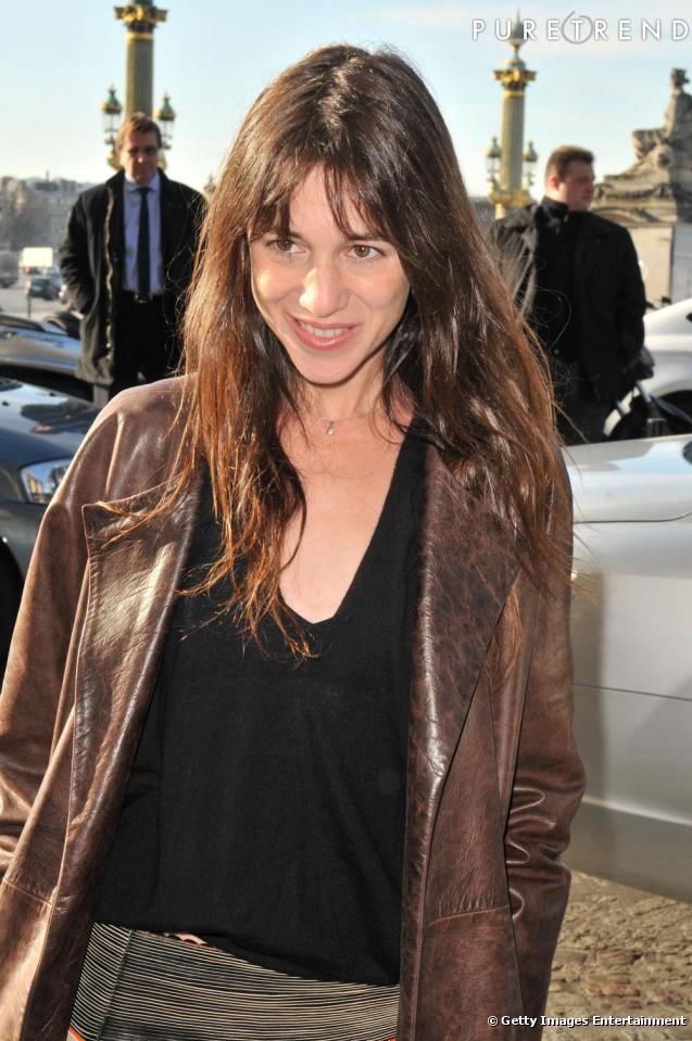 Charlotte Gainsbourg en jupe Balenciaga