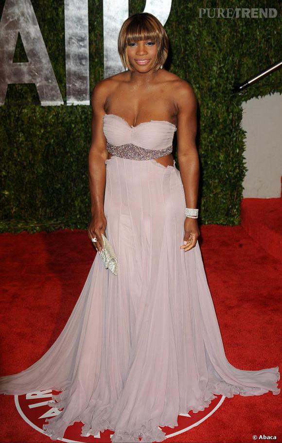 Serena Williams à la soirée  Vanity Fair  à Los Angeles