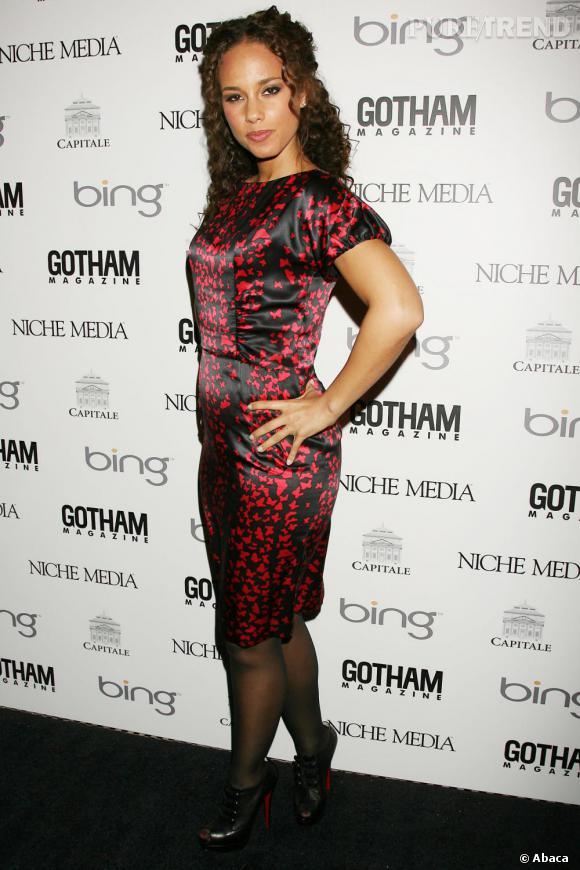 Alicia Keys lors du gala Niche Media Annual Gotham