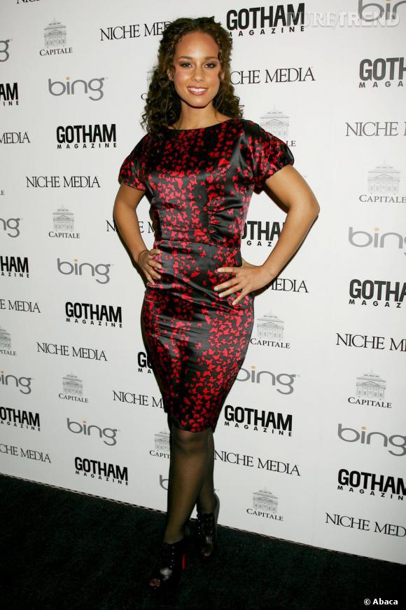 Alicia Keys lors de la soirée Gotham magazine  à New York