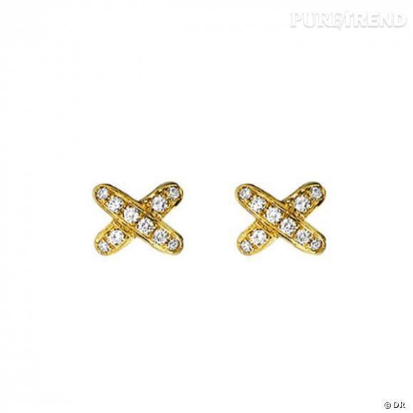 Boucles d'oreilles diamant chaumet