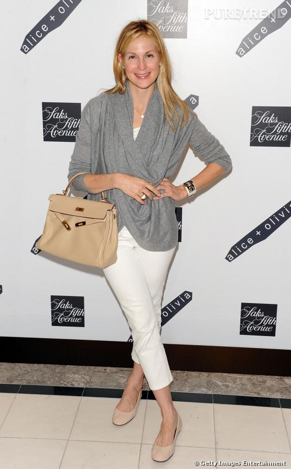 Kelly Rutherford, un style chic et impeccable en toutes occasions.