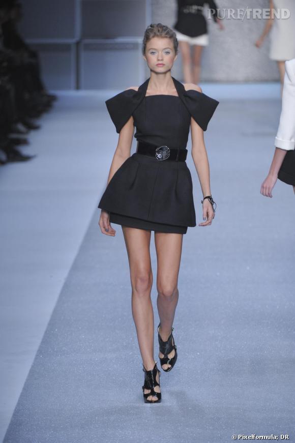 Défilé Karl Lagerfeld printemps-été 2010