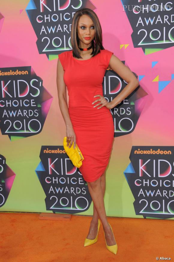 Tyra Banks aux Kids'Choice Awards à Los Angeles