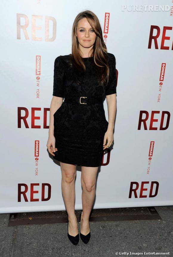 La petite robe noire selon Alicia Silverstone.