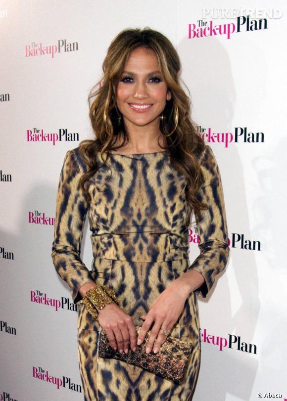 Jennifer Lopez opte pour un look sauvagement sexy !