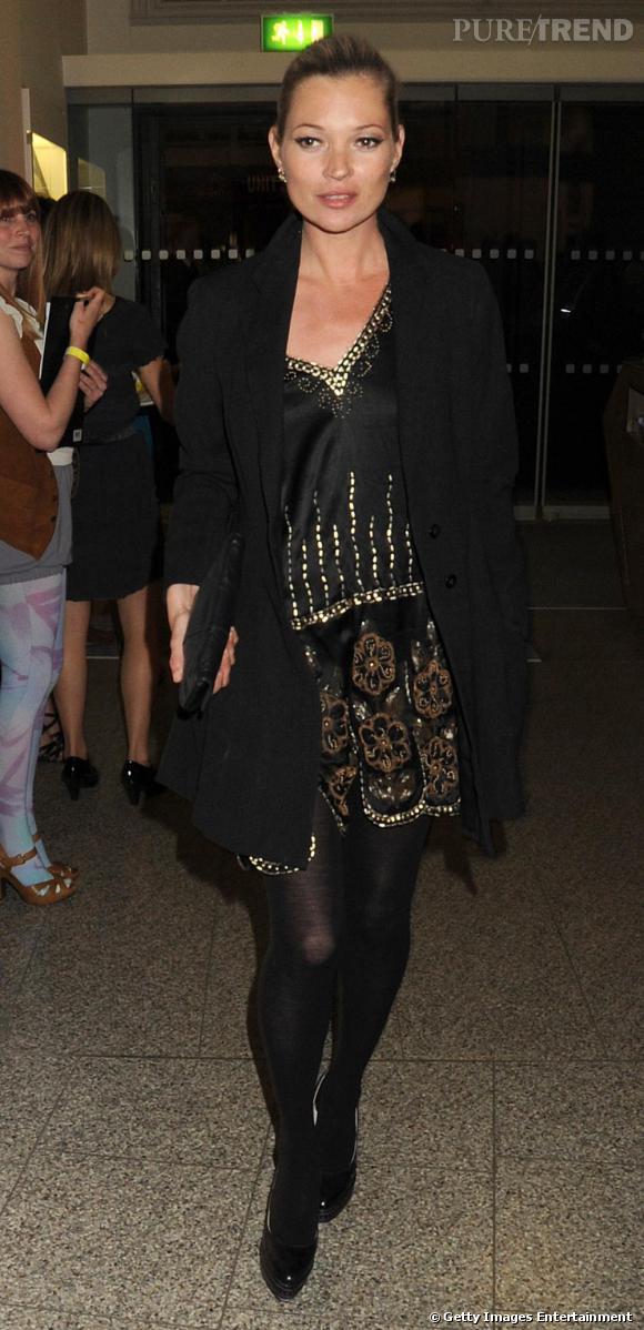 Kate Moss à la Art Plus Music Party