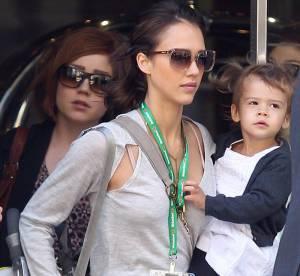 Jessica Alba, maman bobo... A shopper !